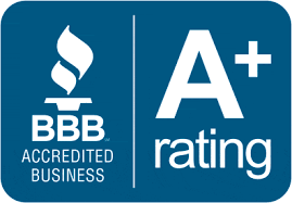 DansTrash/Same Day Haulin has a BBB A+ Rating.